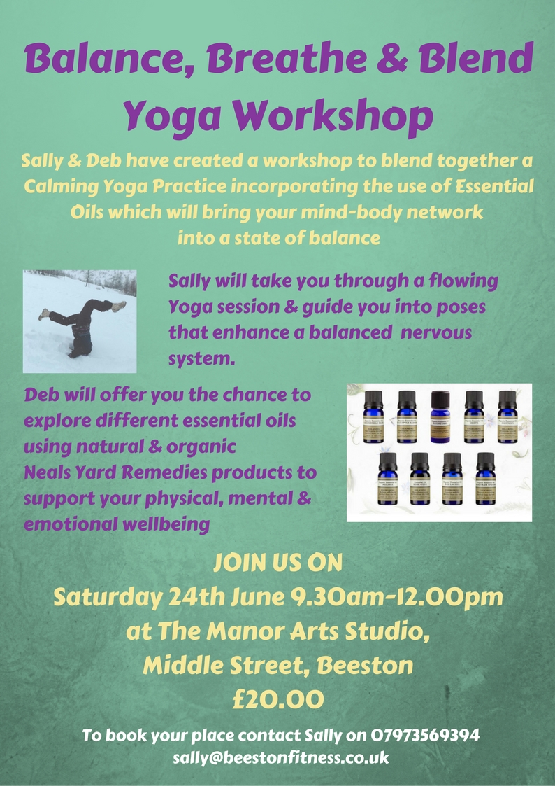 Yoga Workshop Poster